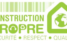 logo du label Construction Propre
