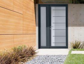 Porte bois aluminium